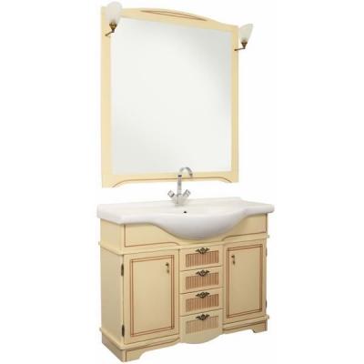 Мебель для ванной Aquanet Луис 105 светлый орех