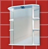 Зеркало для ванной комнаты ГЛОРИЯ 60
