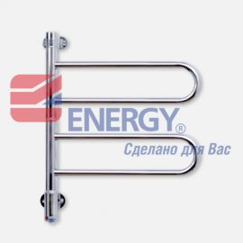 Полотенцесушитель электрический Energy U chrome D2K 22W