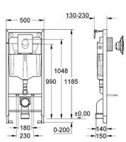 Система инсталяции Инсталляции для унитаза()