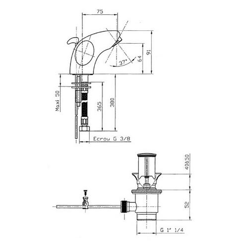 Смеситель для раковины Смесители для  умывальника()